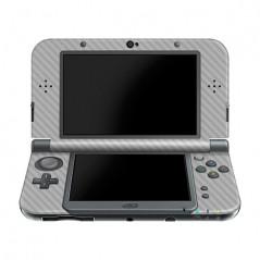 New 3DS LL/XL Console Carbon Fiber Skin Silver