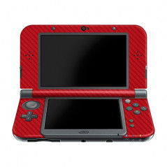 New 3DS LL/XL Console Carbon Fiber Skin Red