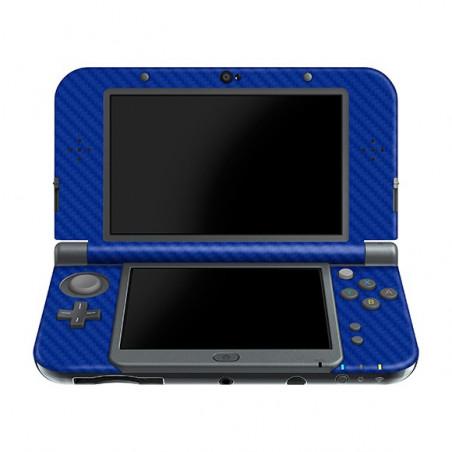 New 3DS LL/XL Console Carbon Fiber Skin Blue