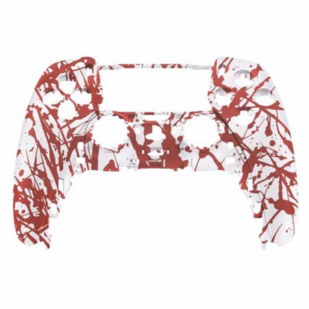 PS5 Dualsense Controller Front Shell Soft Touch Blood Sacrifice