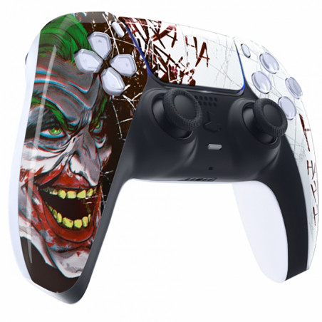 PS5 Dualsense Controller Front Shell With Touchpad Gloss Joker