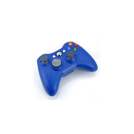 XBOX360 Slim Wireless Controller Without Packing Blue Refurbished