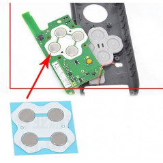 NS Switch Joy-con Circuit Board PCB Direction/ABXY Button Pad Set