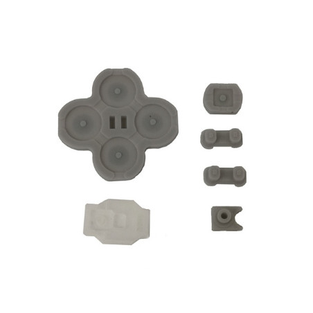 NS Switch Right Joy-con Replacement Conductive D-Pad Rubber 5-Piece Set