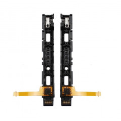 NS Switch Joy-con Left Plastic Rail Assembly with Flex Cable Preowned