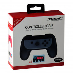 NINTENDO SWITCH DOBE JOY-CON CONTROLLERS LEFT AND RIGHT CONTROLLER GRIP BLACK