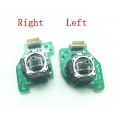 WII U GamePad 3D Analog Stick With PCB Board Left Right Set