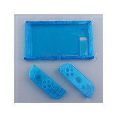 Ns Switch Console and Joy-con Replacement Housing Clear BLUE