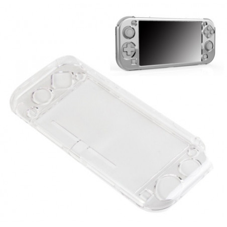 Nintendo Switch lite Crystal Protective Cover Case with Stand Transparent Clear