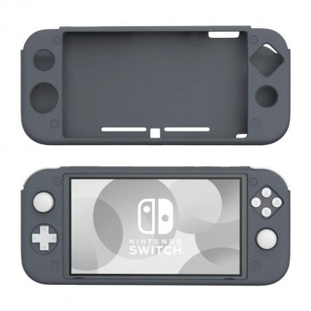 Nintendo Switch Lite Protective Anti-Slip Soft Silicone Skin Case Black