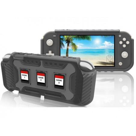 Nintendo Switch Lite Armour Heavy Duty Protective Case Grey