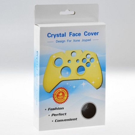 Xbox One Controller Front Faceplate Protection Series CLEAR BLACK