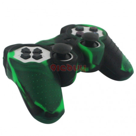 PS4 Controller Camouflage Pattern Soft Silicone Case