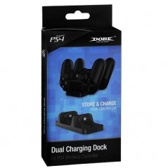 PS4 DUALSHOCK 4 DOBE DUAL CONTROLLER CHARGER