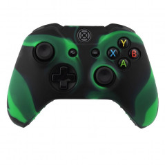 XBOX ONE CONTROLLER SILICON PROTECT CASE MULTI COLOR GREEN BLACK
