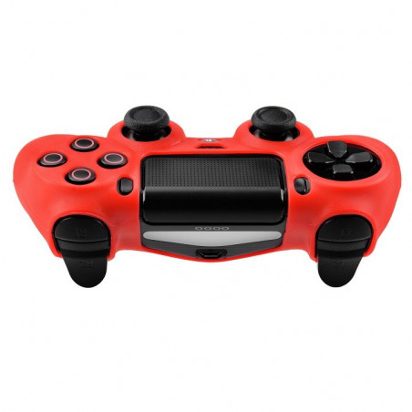 PS4 DUALSHOCK 4 PROTECTION SERIES SILICON SKIN RED