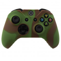 XBOX ONE CONTROLLER SILICON PROTECT CASE MULTI COLOR GREEN BROWN