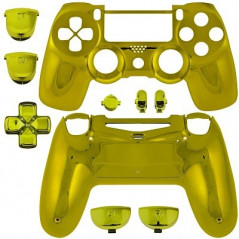 PS4 DUALSHOCK 4 COMPLETE SHELL SERIES CHROME GOLD