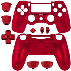 PS4 DUALSHOCK 4 COMPLETE SHELL SERIES CHROME RED