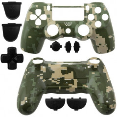 PS4 DUALSHOCK 4 COMPLETE SHELL SERIES CAMOUFLAGE GREEN
