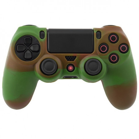 PS4 DUALSHOCK 4 PROTECTION SERIES SILICON SKIN GREEN BROWN