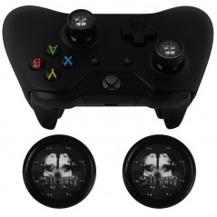 XBOX ONE WIRELESS CONTROLLER PROJECT DESIGN JELLY PROCAP ONE SKULL GHOST