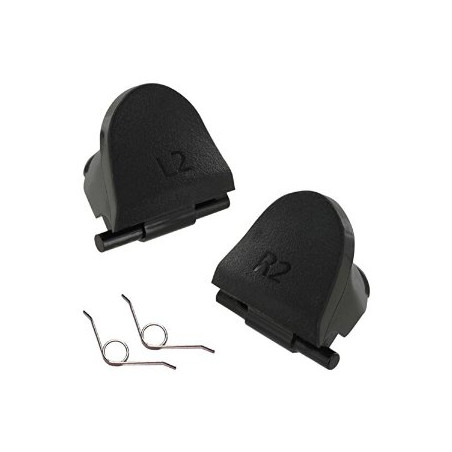 PS4 Dual shock 4 Wireless Controller Replacement L2 R2 Tigger Button with Spring (1 Pair)