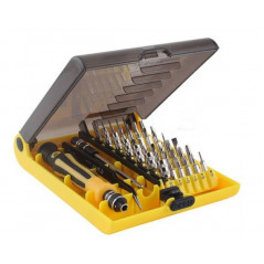JK-6089-A 45 in 1 Professional Console Hardware Opening Tool Kit - 42 Bit