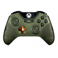 Xbox One Controller Front Faceplate Art Series Halo 4 Guardians Limited Edition Green
