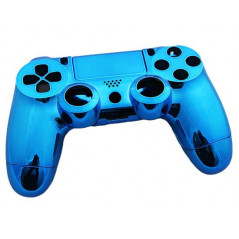 PS4 DUALSHOCK 4 COMPLETE SHELL SERIES MIRROR CHROME BLUE