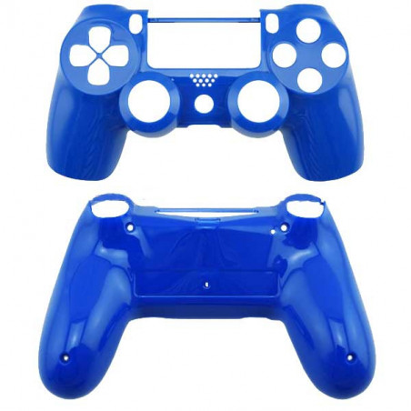 PS4 DUALSHOCK 4 TOP AND BOTTOM SHELL SERIES GLOSSY BLUE