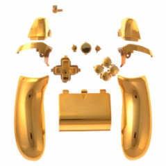 XBOX One Controller Mod Kit Chrome Gold