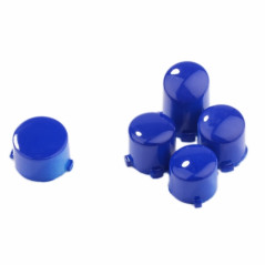 Xbox One Controller Button Set Polished Glossy Blue