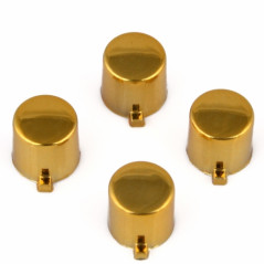 PS4 Controller DS4 Button Set Chrome Gold