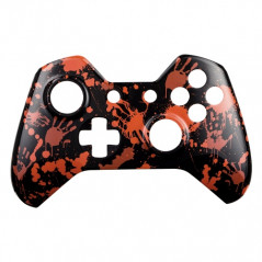 Xbox One Controller Front Faceplate Art Series Blood Hands Black