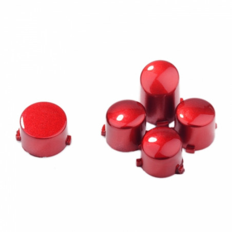 Xbox One Controller Button Set Polished Glossy Red