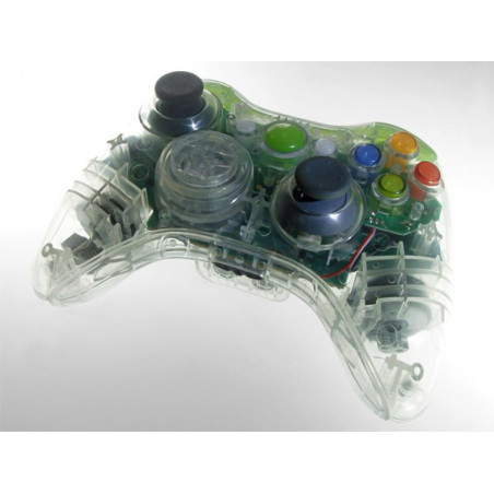 X360 CONT SHELL - NEW D-PAD + AUTO FIRE CRYSTAL