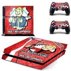 PS4 VINYL SKIN KIT NUKA-COLA