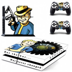 PS4 VINYL SKIN KIT VAULT BOY