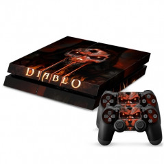 PS4 VINYL SKIN KIT DIAB