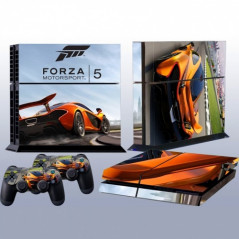 PS4 VINYL SKIN KIT RACING
