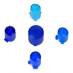 X360 Controller ABXY Guide Button Set  Blue