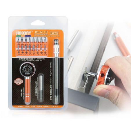 JAKEMY JM-6119 Screwdriver Tool Set