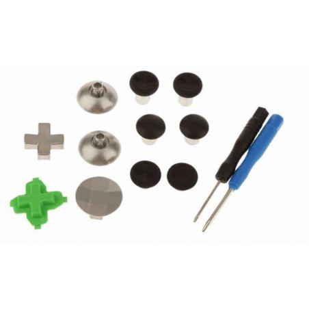 XBOX ONE Controller Professional 11Pcs Metal Adjustable Swap Thumbsticks / Grips and D-Pad Button Set