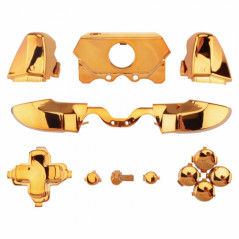 Xbox One Full Button Set Gold For Controllers with a 3.55 Headset Jack