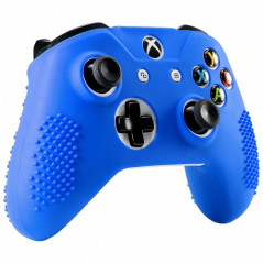 XBOX ONE S CONTROLLER SILICON PROTECT CASE EXTREME GRIP BLUE