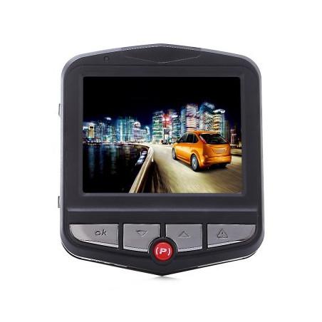 GT300+ Dual Lens 1080P FHD 170 Degree Wide Angle Car DVR BLACK