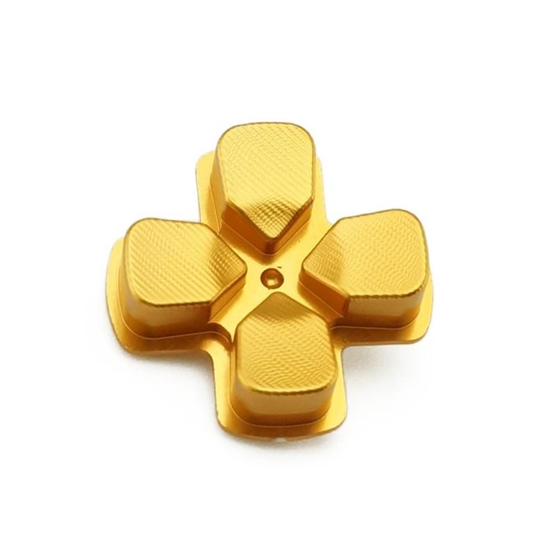 PS4 DS4 Dualshock 4 Metal D-PAD Gold