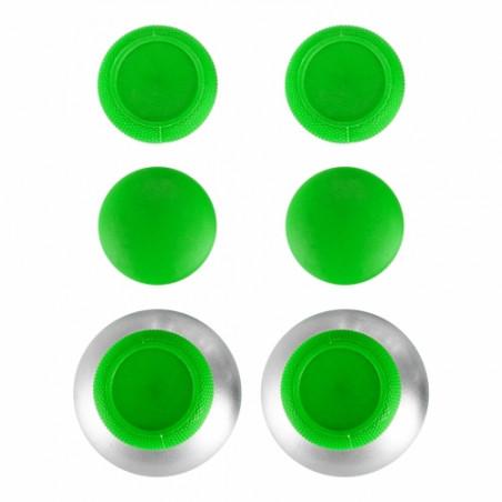 Xbox One / PS4 Controller GREEN Raised Anti-slip Thumbsticks