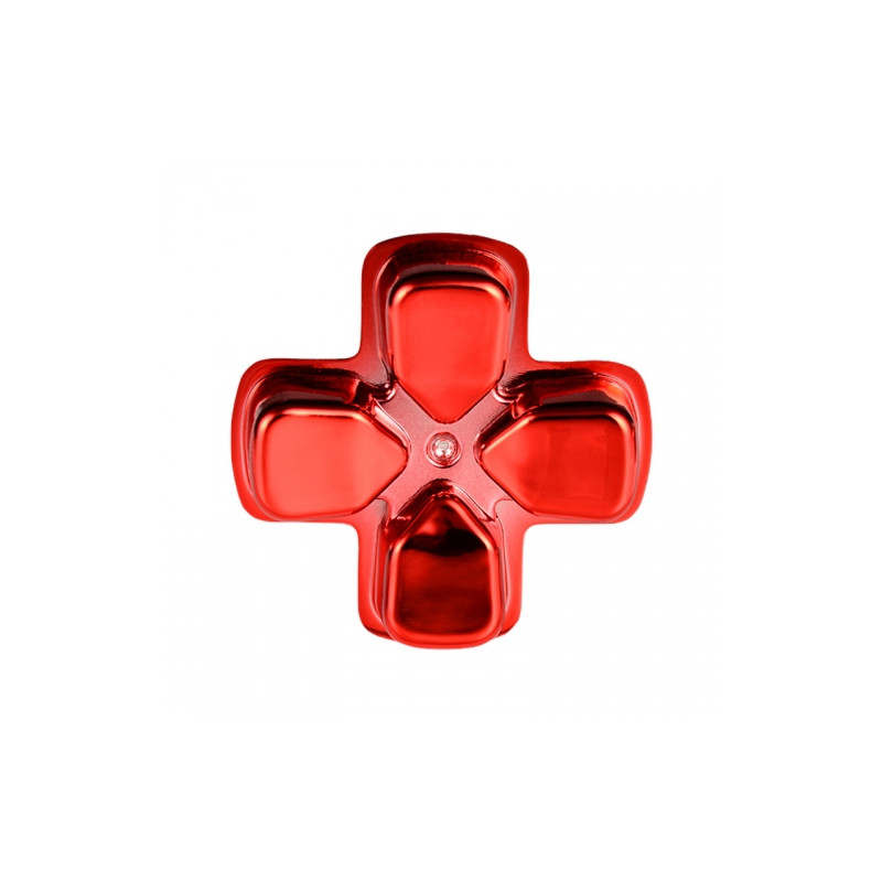 PS4 DS4 Dualshock 4 D-PAD Chrome RED
